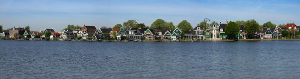 Zaanse Skans houses Royalty Free Stock Photography