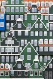 Zaanstad architecture Stock Image
