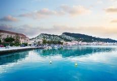 Zaante town, Zakinthos Greece Royalty Free Stock Photography