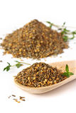 Zaatar. Photographie stock