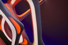 Zaawansowany technicznie abstrakcja Zdjęcie Stock