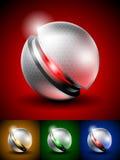 Zaawansowany technicznie abstrakcjonistyczna ikona Obrazy Royalty Free