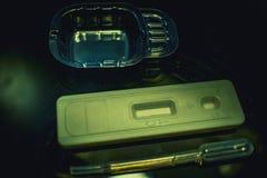 Zaawansowany technicznie lab wyposażenie używać w w Vitro nawożenia procesu odratowania jajecznej procedury Laboranckim nawożeniu Obrazy Royalty Free