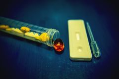 Zaawansowany technicznie lab wyposażenie używać w w Vitro nawożenia procesu odratowania jajecznej procedury Laboranckim nawożeniu Zdjęcie Royalty Free