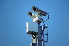 Zaawansowany Technicznie Rabatowa inwigilacja Zdjęcia Stock
