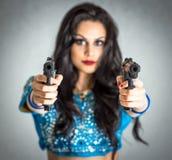 Zabójca dziewczyny pojęcie Zdjęcie Stock