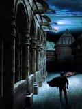 zabójca noc ilustracji
