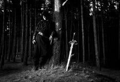 Zabójca w głębokim lesie Zdjęcie Royalty Free