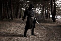 Zabójca w głębokim lesie Zdjęcie Stock