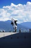 Zabójcy wieloryba statua zdjęcie royalty free
