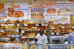 Zabars deli and grocery store in Manhattan royalty free stock photography