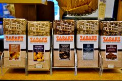 Zabars deli and grocery store in Manhattan Stock Image