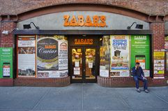 Zabars deli and grocery store in Manhattan Stock Photography