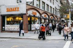 Zabars ist ein Spezialitätenlebensmittelspeicher in New York Lizenzfreies Stockbild