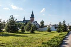 Zabawa,波兰- 2016年7月20日:对Acci的受害者的纪念碑 免版税库存照片