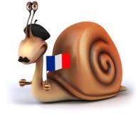 Zabawa ślimaczek ilustracja wektor