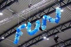 Zabawa balony fotografia stock