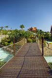 zabawa bridżowy park Siam Tenerife fotografia royalty free
