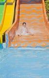 Zabawa czas w Aqua parku, Izmir Obrazy Stock