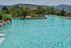 Zabawa czas w Aqua parku w Izmir Obraz Stock
