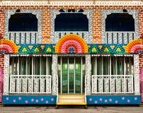 Zabawa domu wejście Zdjęcie Royalty Free