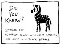 Zabawa fact ilustracji