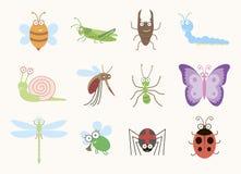 Zabawa insekty Obraz Stock