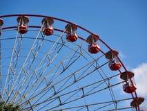 Zabawa jarmarku Ferris koło Fotografia Royalty Free