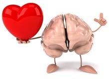 Zabawa mózg ilustracja wektor