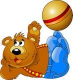 Zabawa niedźwiedź Zdjęcia Stock