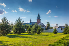 Zabawa, Polônia - 20 de julho de 2016: Monumento às vítimas de Acci Fotos de Stock Royalty Free