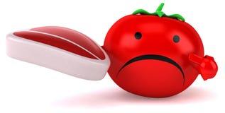 Zabawa pomidor ilustracja wektor