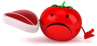 Zabawa pomidor royalty ilustracja