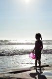 Zabawa Przy plażą Fotografia Royalty Free