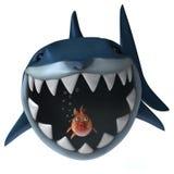 Zabawa rekin royalty ilustracja