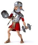 Zabawa rzymski żołnierz Zdjęcia Royalty Free