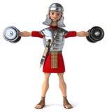 Zabawa rzymski żołnierz Fotografia Stock