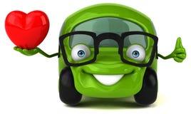 Zabawa samochód - 3D ilustracja Zdjęcia Royalty Free