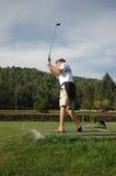 zabawa w golfa Obraz Royalty Free