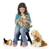 Zabawek zwierzęta domowe Mówją, Zdjęcia Royalty Free