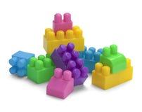 Zabawka bloków stos Obraz Stock