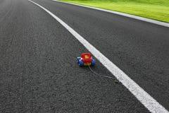 Zabawka na drodze Fotografia Stock