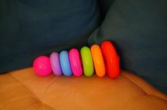 Zabawka pierścionki Zdjęcie Royalty Free