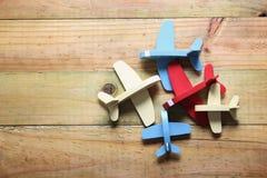 Zabawka samoloty obraz royalty free