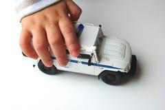 Zabawka w ręce Zdjęcie Royalty Free