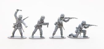 Zabawkarscy żołnierze zdjęcie stock