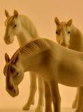 Zabawkarscy konie Zdjęcie Stock
