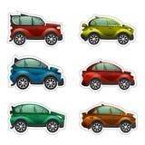 zabawkarscy samochodów majchery Obrazy Royalty Free