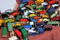 Zabawkarscy samochody Obrazy Royalty Free