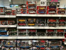 Zabawkarscy samochody dla dzieci obraz stock